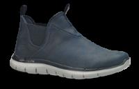 Skechers kort damestøvle blå 88888212