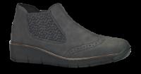 Rieker kort damestøvlett grå 537Z3-45