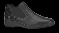 Rieker kort damestøvlett sort L6090-02