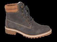 B&CO kort damestøvle mørk grå