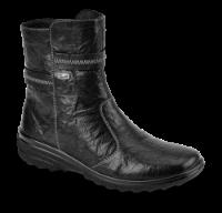 Rieker kort damestøvle sort Z7071-00