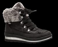 Caprice kort damestøvlett sort 9-9-26220-23