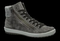 Legero kort damestøvle grå 509614