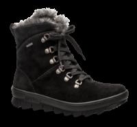 Legero kort damestøvle sort 500503