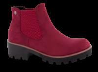 Rieker kort damestøvle rød 99284-35