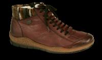 Rieker kort damestøvlett burgunder L6938-35