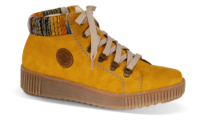 Rieker kort damestøvlett gul M6411-68