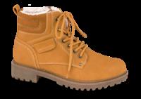 Marco Tozzi kort damestøvle gul 2-2-26272-23