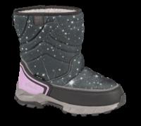 Skofus børnestøvle grå/rosa