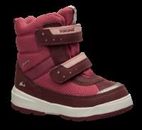 Viking barnestøvlett rød 3-87025 Play II