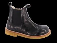 Angulus barnestøvlett sort 6069-101