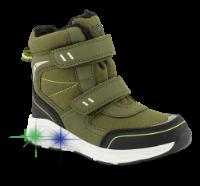 KOOL grønn vinterstøvlett med lys 5621501340