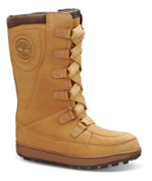 Timberland barnestøvlett gul C39979
