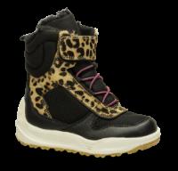 Woden Wonder barnestøvlett leopard WW9020