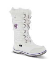 LEAF barnestøvlett hvit LFROS201A