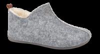 Zafary dametøffel lysgrå