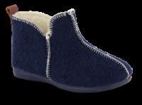 Zafary barnetøffel marineblå