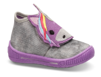Superfit barne-tøffel grå 400251