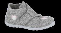 Skofus barnetøffel grå 8-02288 Happy
