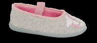 Skofus barnetøffel grå/rosa