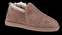 Woollies damehjemmesko grå 1010 Shoe Luxe