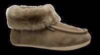 Woollies tøfler gråbrun 1005 Clas Spalt