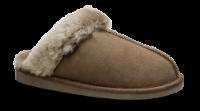 Woollies dame hjemmesko gråbrun 1009 Slip Luxe