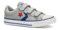 Converse børne canvas sneaker grå 663601C STAR PLA