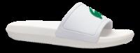 Lacoste badesandal hvid CROCO SLIDE 119