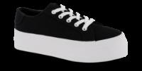 CULT lærredssneaker sort