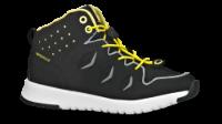 FOOTI børne basketstøvle sort/gul 10-81057= Diabas