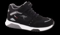Kangaroos barne-sneaker sort KR18391