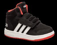 adidas baby basketstøvle sort HOOPS MID 2.0 I
