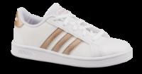 adidas børnesneaker hvid/kobber Grand Court