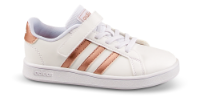 adidas barnesneaker hvit Grand Court.
