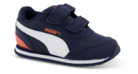 Puma børnesneaker navy 365295