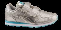 Puma børnesneaker sølv 369720