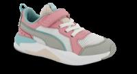 Puma børnesneaker hvid X-Ray 372921