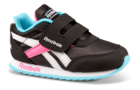 Reebok børnesneaker sort ROYAL CLJOG. EF3754