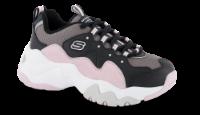 Skechers barne-sneaker sort 80443L