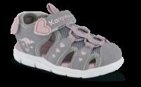 Kangaroos børnesandal grå KR02035