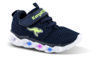 Kangaroos børnesneaker navy KR02039