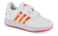 adidas børnesneaker hvid HOOPS 2.0 CMF C