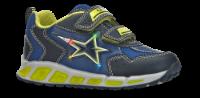 Geox børnesneaker blå/gul J8294DOBU11C0749