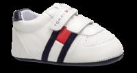 Tommy Hilfiger babysko hvit T0B4-30191-