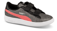 Puma børnesneaker sort/grå 367378