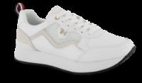 Tommy Hilfiger damesneaker hvid FW0FW04604