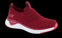 Skechers strikksko rød 13329
