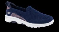Skechers strikksko marineblå 15900