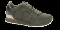 Woden damesneaker oliven WL159-355